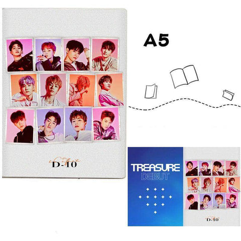 K-pop Fashion OFFICIAL TREASURE Album Notebook
