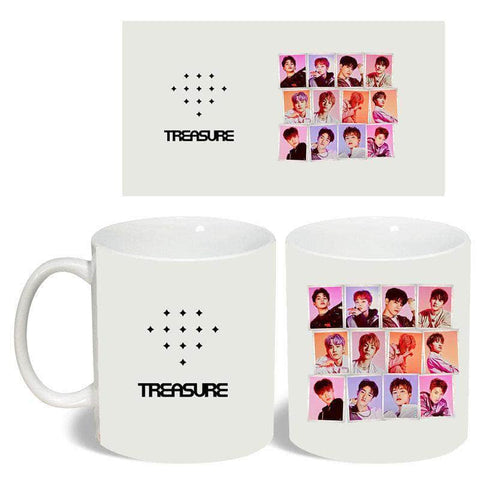 K-pop Fashion OFFICIAL TREASURE Color Changing Water Cup