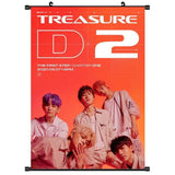K-pop Fashion OFFICIAL TREASURE Poster×Card Sticker×Postcard