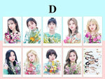 K-pop Fashion OFFICIAL TWICE 10 sheets Lomo Cards