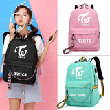 K-pop Fashion OFFICIAL TWICE Backpack