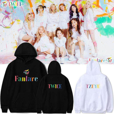 K-pop Fashion OFFICIAL TWICE FANFARE Hoodie