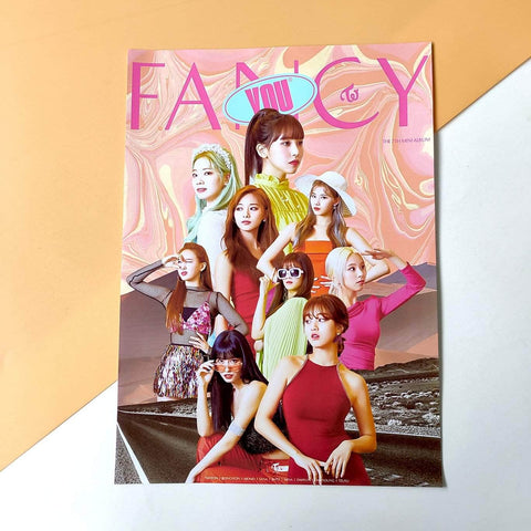 K-pop Fashion OFFICIAL TWICE FANFARE Photo Poster