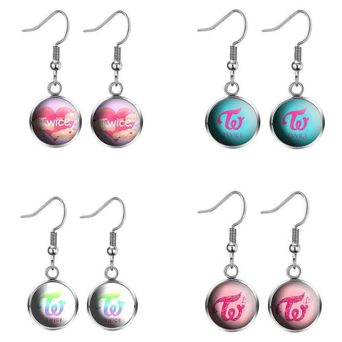 K-pop Fashion OFFICIAL TWICE MORE & MORE earrings