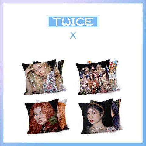 K-pop Fashion OFFICIAL TWICE MORE & MORE Pillow