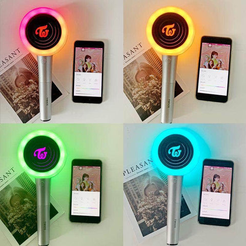 K-pop Fashion OFFICIAL TWICE Ver.2 Bluetooth Candy Lightstick