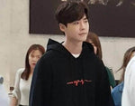 IDOLS FASHION HOODIE OFFICIAL WHILE YOU WERE SLEEPING LEE JONG SUK SCRIBBLE HOODIE