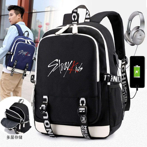Kpop Merchandise Online Accessories Phone Charging Backpack