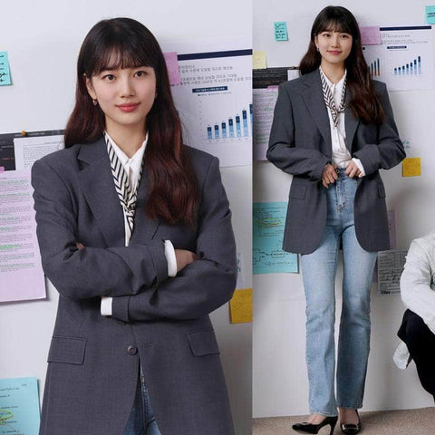 Official Kpop Merchandise Online 🥇 Start Up Office Ladies Blazer