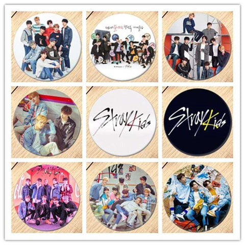 Kpop Merchandise Online Badges Stray Kids Badges