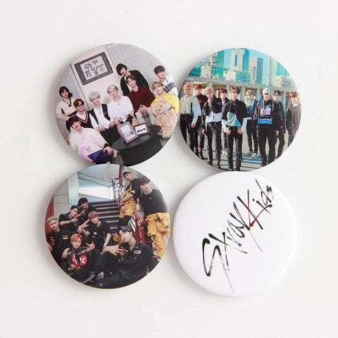 Official Kpop Merchandise Online 🥇 Badges Stray Kids Merch - Badge