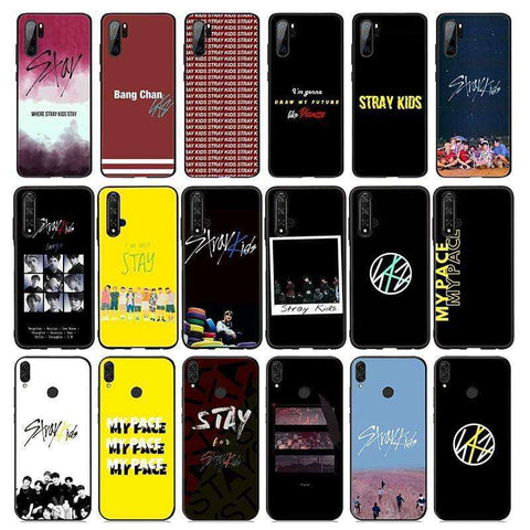 Kpop Merchandise Online Phone Case Stray Kids  Soft Silicone Case for Huawei Honor 10 9X 9 8 8X Lite 7X 7C 7A 6A for Honor Note 10
