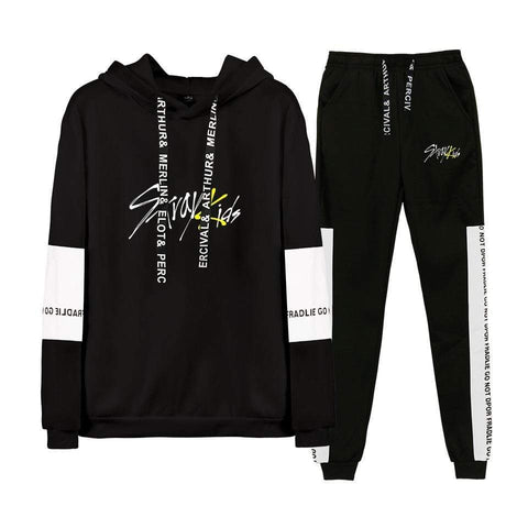 Kpop Merchandise Online Clothing Stray kids Sweatshirt Sweatpants Special Edition