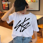 Kpop Merchandise Online Clothing Stray Kids Tshirt