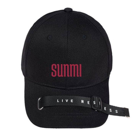 Official Kpop Merchandise Online 🥇 Accessories Sunmi Buckle Hat