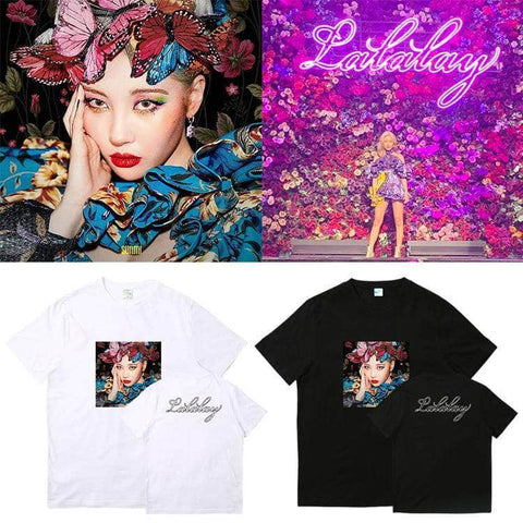 Official Kpop Merchandise Online 🥇 Clothing Sunmi LALALAY Shirt