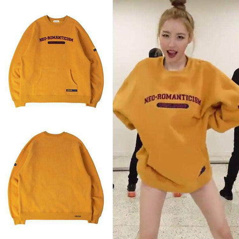 IDOLS FASHION SWEATER SUNMI NEO ROMANTICISM SWEATER