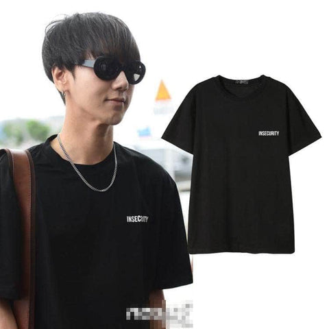 IDOLS FASHION T-SHIRT SUPER JUNIOR YESUNG INSECURITY T-SHIRT
