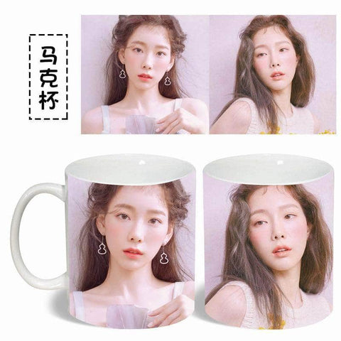 Official Kpop Merchandise Online 🥇 Accessories Taeyeon Coffee Mug