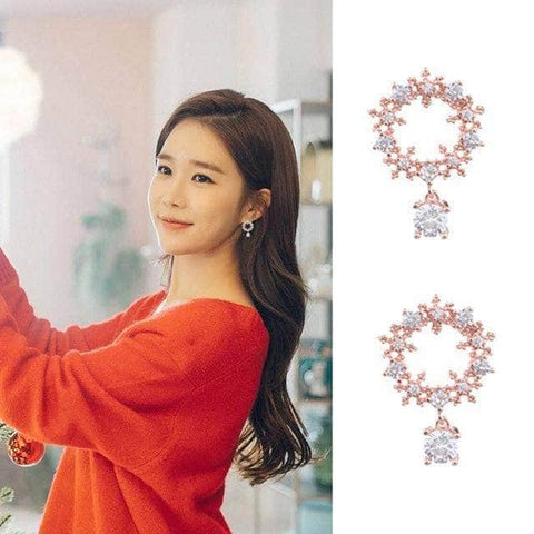 K-Dramatique Earrings Touch Your Heart: Oh Jin Shim's Earrings (13 Different Styles)