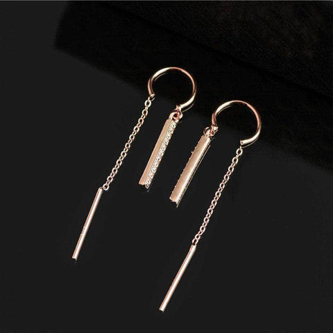 K-Dramatique Earrings Touch Your Heart: Oh Jin Shim's Sterling Silver Drop Earrings