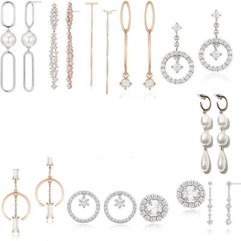 K-Dramatique Earrings Touch Your Heart: Oh Jin Shim's Sterling Silver Earrings (10 Different Styles)
