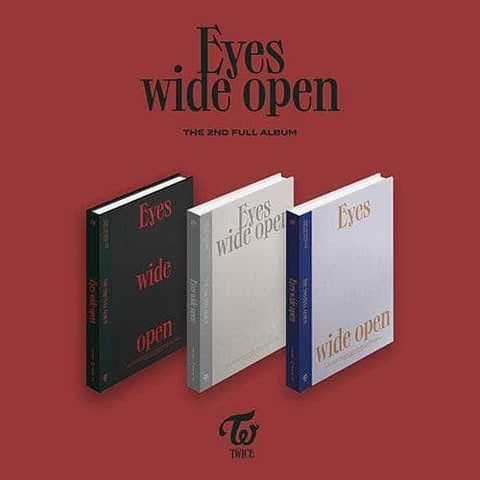 Official Kpop Merchandise Online 🥇 Official Kpop Albums TWICE - 2ND FULL ALBUM [EYES WIDE OPEN]
