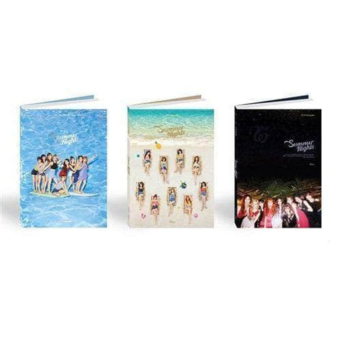 Official Kpop Merchandise Online 🥇 Official Kpop Albums TWICE - 2ND SPECIAL ALBUM [SUMMER NIGHTS]
