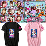 K-pop Fashion TWICE Candy Pop Short Sleeve Cartoon T-shirt