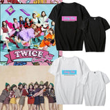 K-pop Fashion TWICE Candy Pop Short Sleeve T-shirt