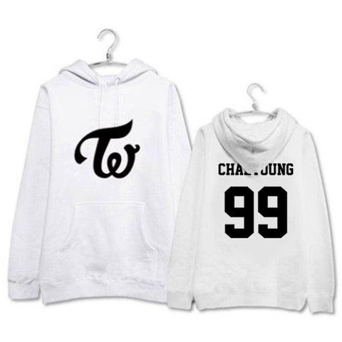 K-pop Fashion TWICE Digital Hoodie
