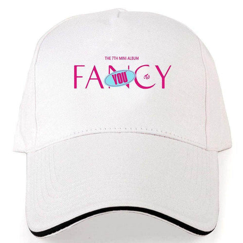 K-pop Fashion TWICE FANCY YOU Peaked cap