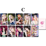 K-pop Fashion TWICE MORE&MORE Double-sided MINI CARD