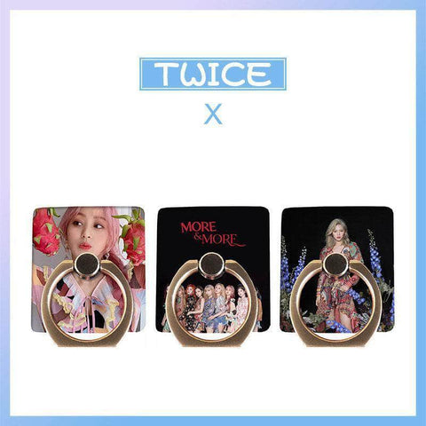 K-pop Fashion TWICE MORE & MORE Phone Finger Ring