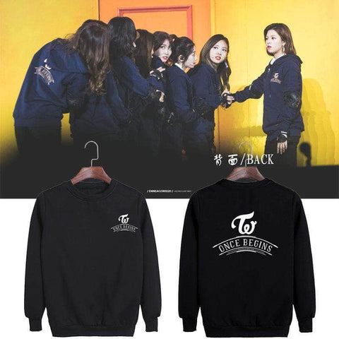 K-pop Fashion TWICE ONCE BEGINS Hoodie