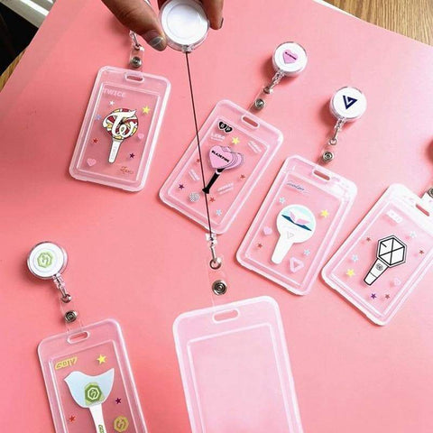 Kpop Merchandise Online Accessories TWICE, Seventeen, EXO, GOT7, BLACKPINK Card Holders