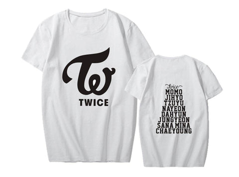 K-pop Fashion TWICE Short Sleeve T-shirt