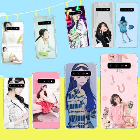 Kpop Merchandise Online Phone Case UAENA Cute Samsung Phone Case