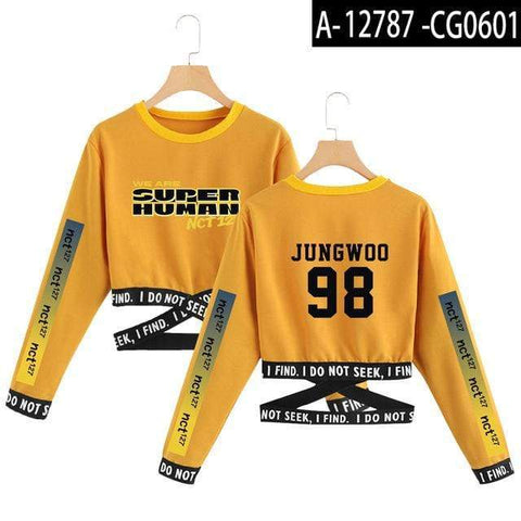 Kpop Merchandise Online Clothing We are Superhuman Seventeen Summer Sweatshirt