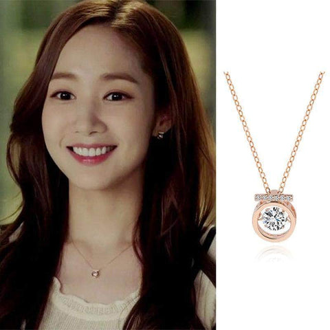 K-Dramatique Necklace What's Wrong With Secretary Kim: Kim Mi So's Faux Diamond Necklace