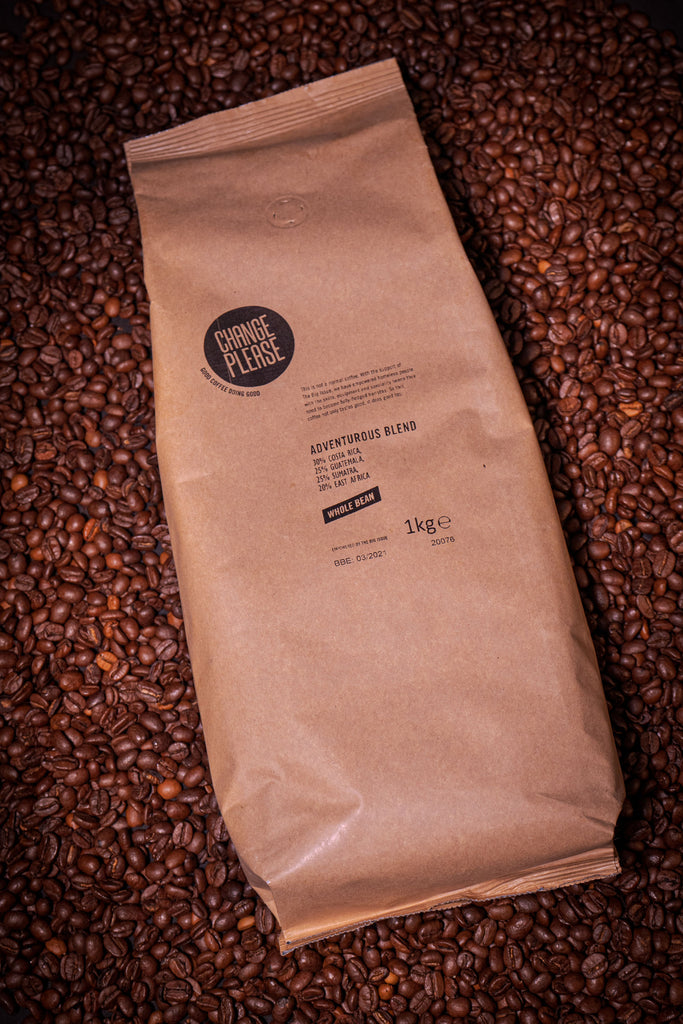 Adventurous Blend - 100% Arabica Wholebean - 8x1KG