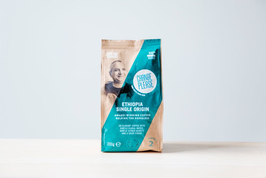 Ethiopia Single Origin - Ground 100% Arabica - Case of 4x200g