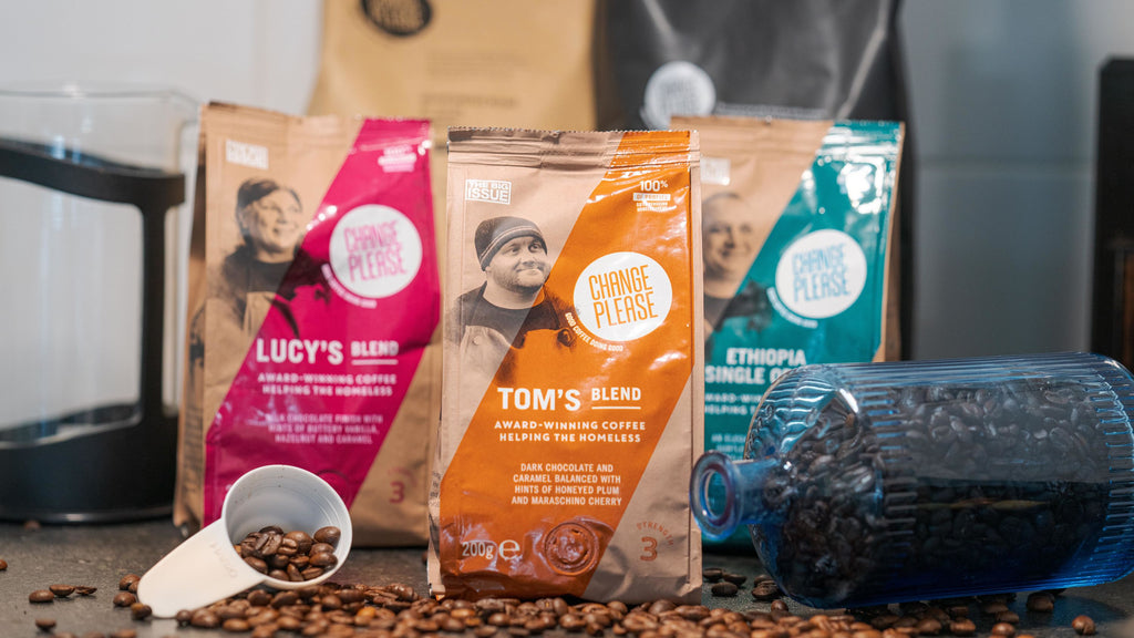 Tom's Blend - Ground 100% Arabica - 4x200g