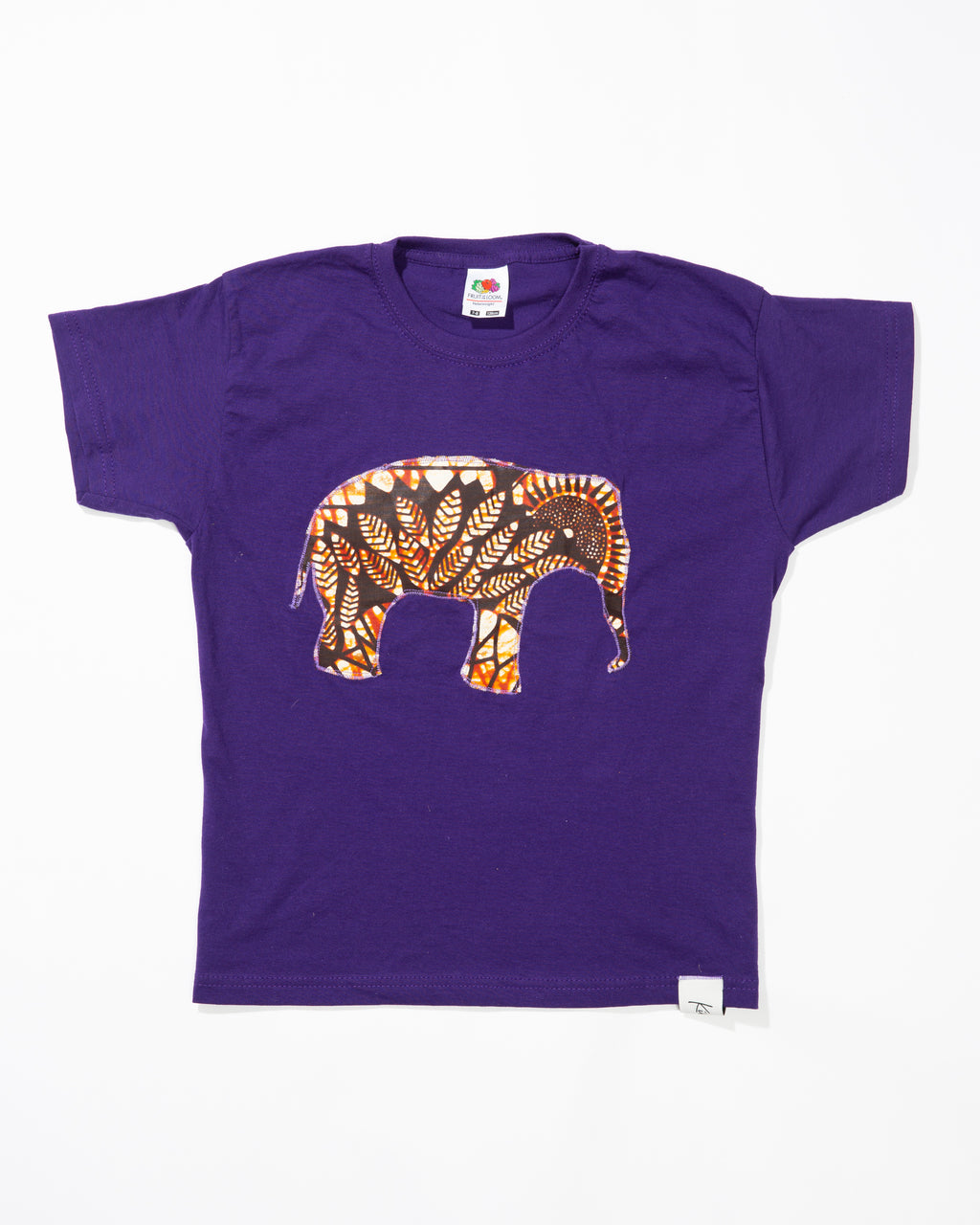 Child's Short Sleeve Elephant T-Shirt