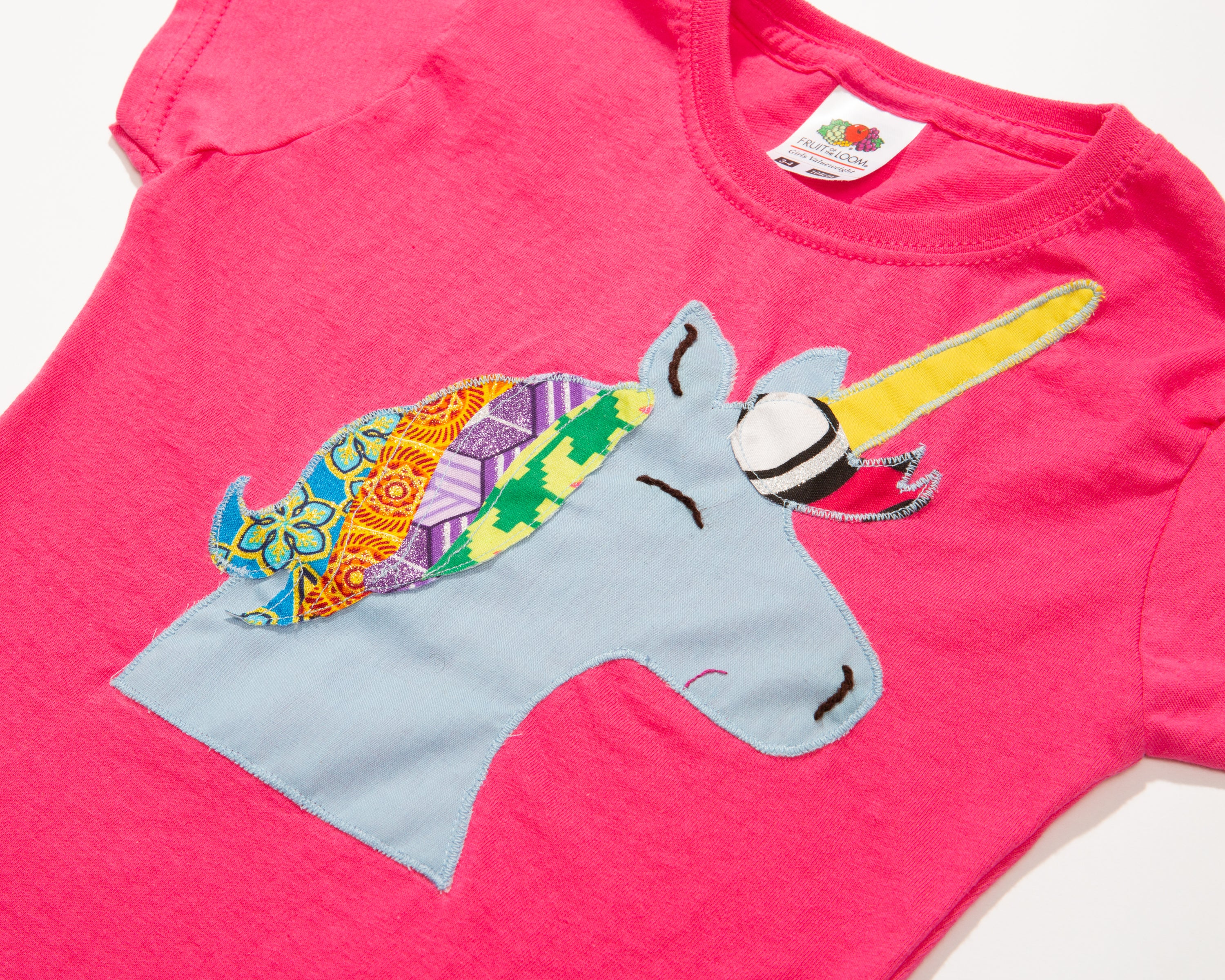 Child's Short Sleeve Unicorn T-Shirt