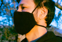 Load image into Gallery viewer, [felted_ cashmere face mask] - [adjustable_face mask] - [altalun_name_]