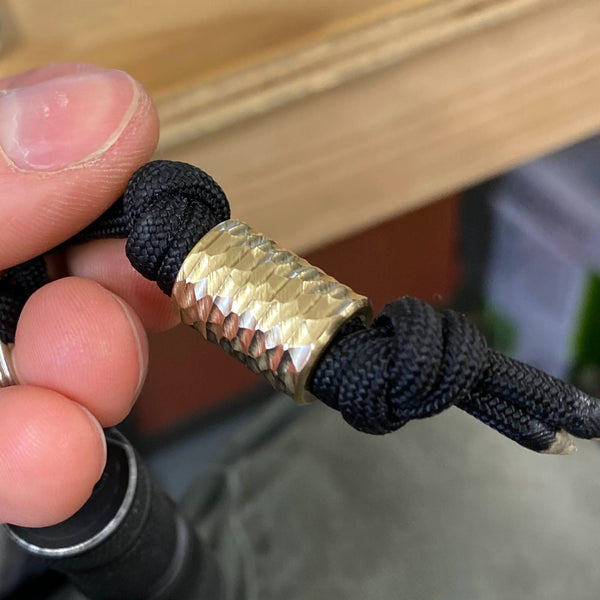 Facet Pen Bead Made from Scrap/Setup Parts