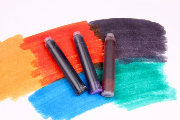 Spare Ink Cartridges for Fountain Pen and Rollerballs