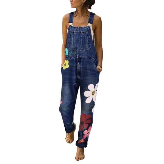 Sweet Memories Denim Jumpsuit