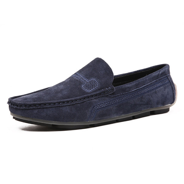 Keep Walking Leather Loafers